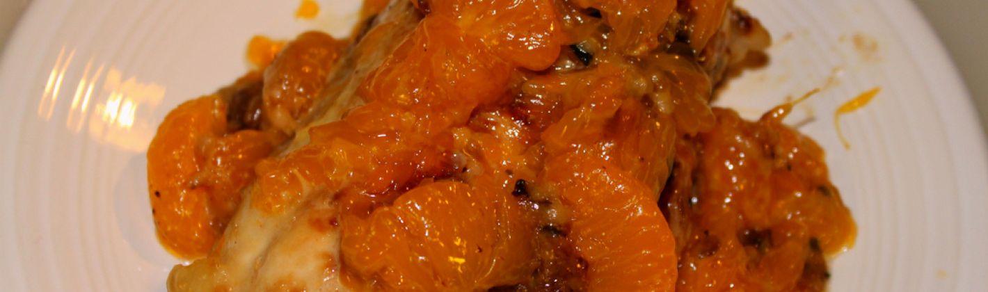 Ricetta tacchino alle arance e cipolle rosse