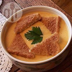 Crema alla zucca con latte di cocco e curry