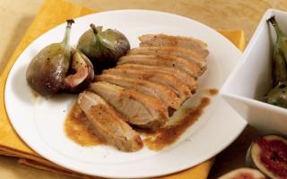Ricetta filetti d'anatra selvatica con i fichi