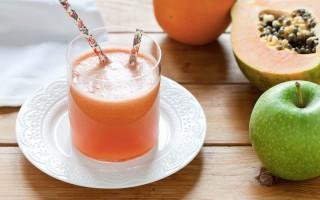 Ricetta centrifugato di mela verde, papaia e pompelmo