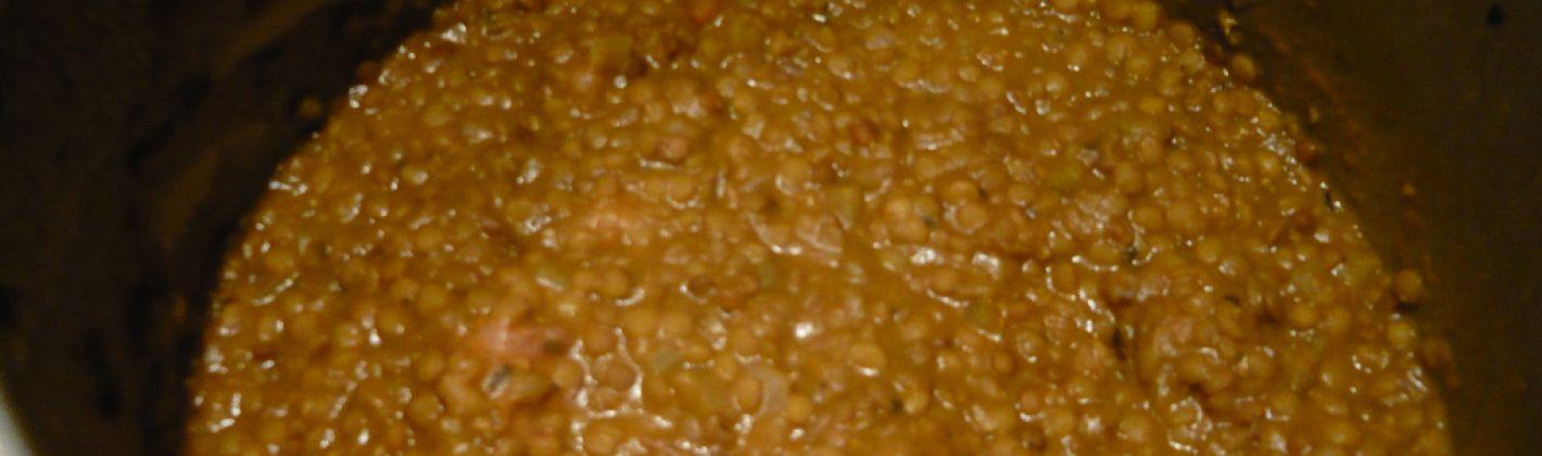 Ricetta lenticchie stufate