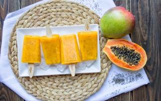 Ricetta stecco gelato ai frutti esotici e semi di chia