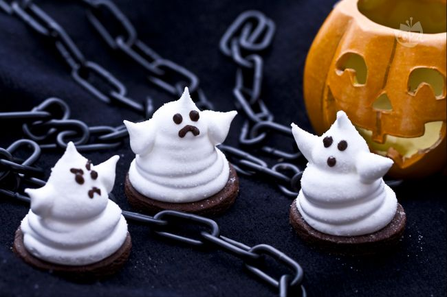 Ricetta fantasmini di marshmallow