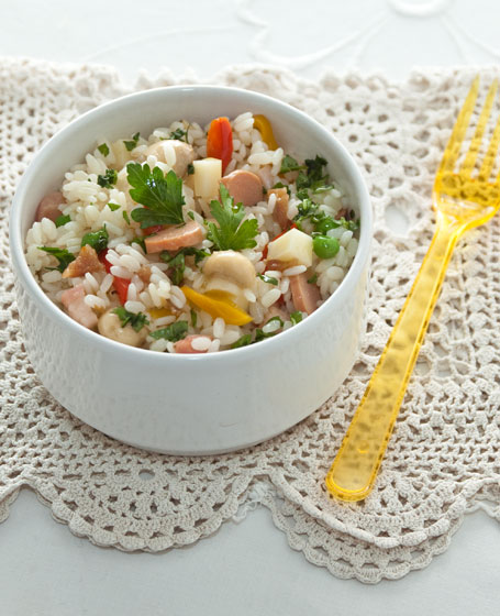 Insalata di riso appetitosa