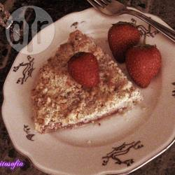 Strawberry crumble pie (sbriciolata alle fragole)