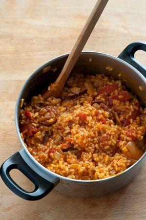 Ricetta riso con chorizo