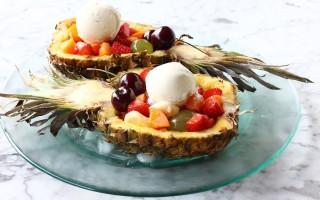 Ricetta macedonia di frutta nell'ananas