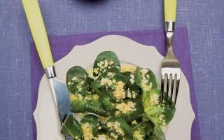 Ricetta insalata di cicorino e uova
