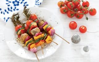 Ricetta spiedini di verdure