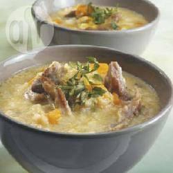 Minestra di riso e agnello