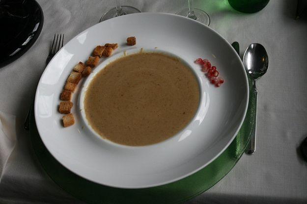 Ricetta zuppa di funghi porcini
