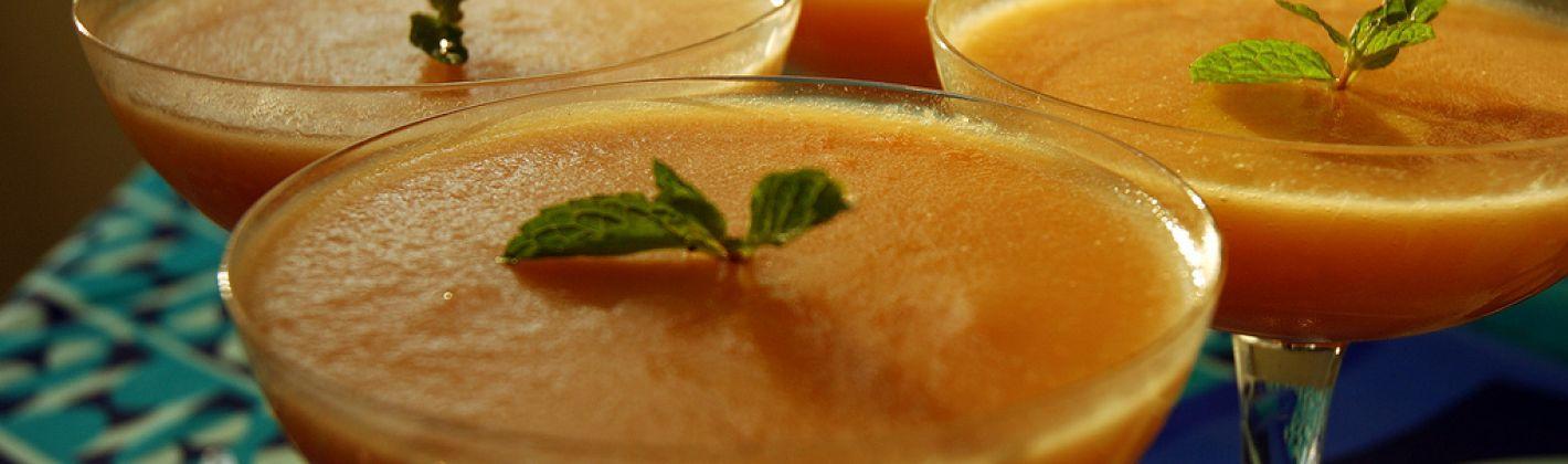 Ricetta mousse di melone