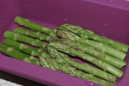 Ricetta coda di rospo o rana pescatrice con asparagi