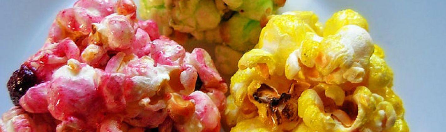 Ricetta palline di popcorn caramellati