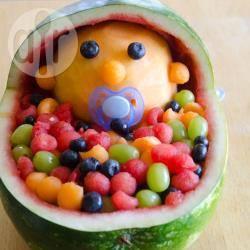 Insalata di frutta per baby shower
