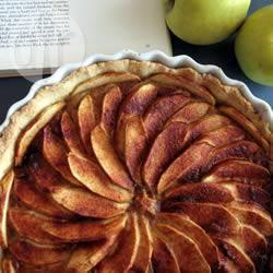Tarte aux pommes (crostata di mele con crema frangipane alla ...