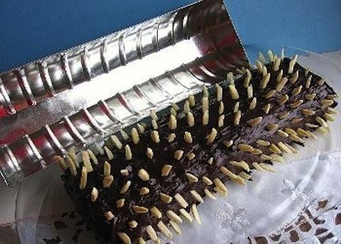 Dolce di cioccolato e mandorle