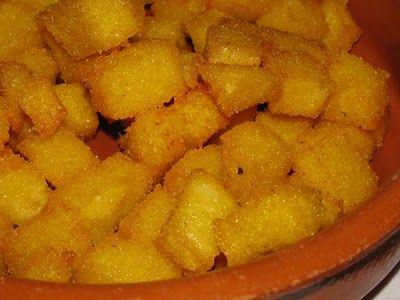 Ricetta dadini di mozzarella e polenta