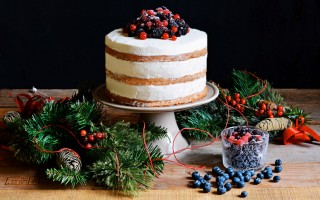 Ricetta naked cake allo zenzero
