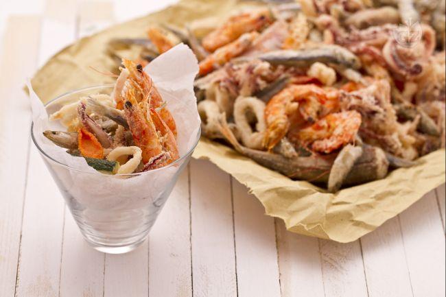 Ricetta fritto misto di pesce