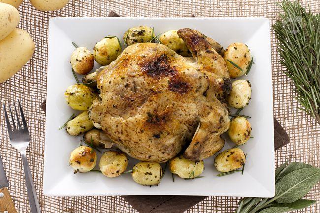 Ricetta pollo arrosto