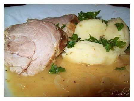 Ricetta arrosto di maiale alla senape