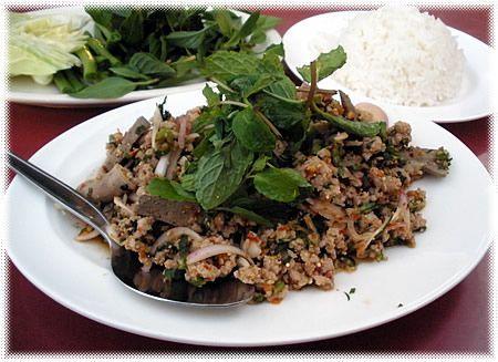 Ricetta insalata di carne tritata (laab, o larb o laap)