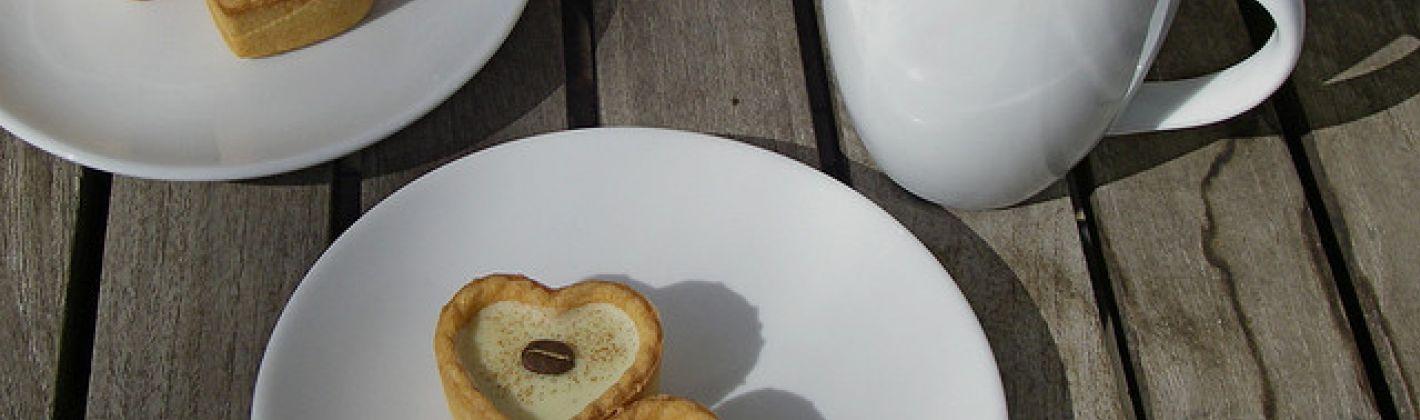 Ricetta pasta sfoglia con crema al caffé