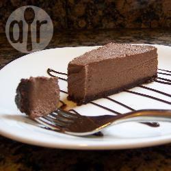 Cheesecake al cioccolato senza lattosio uova e glutine