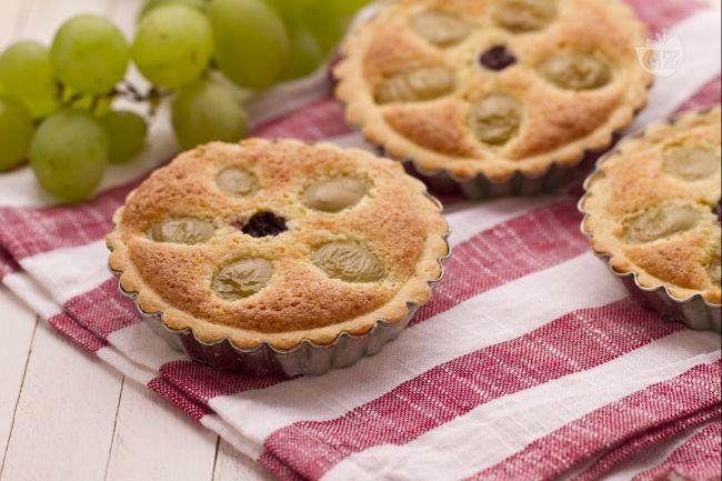 Ricetta crostatine all'uva