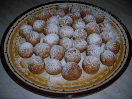 Ricetta castagnole colorate