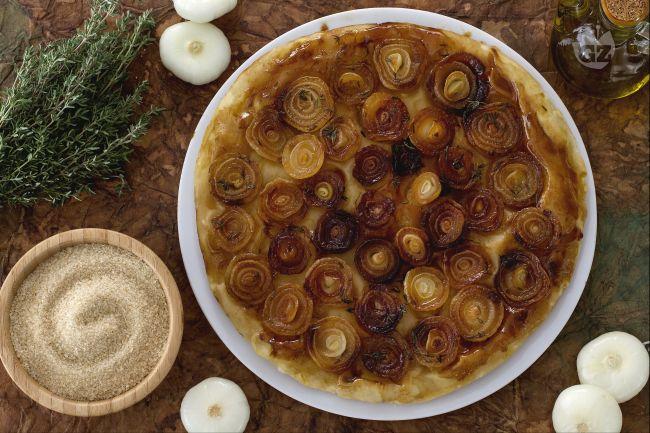 Ricetta tarte tatin di cipolle