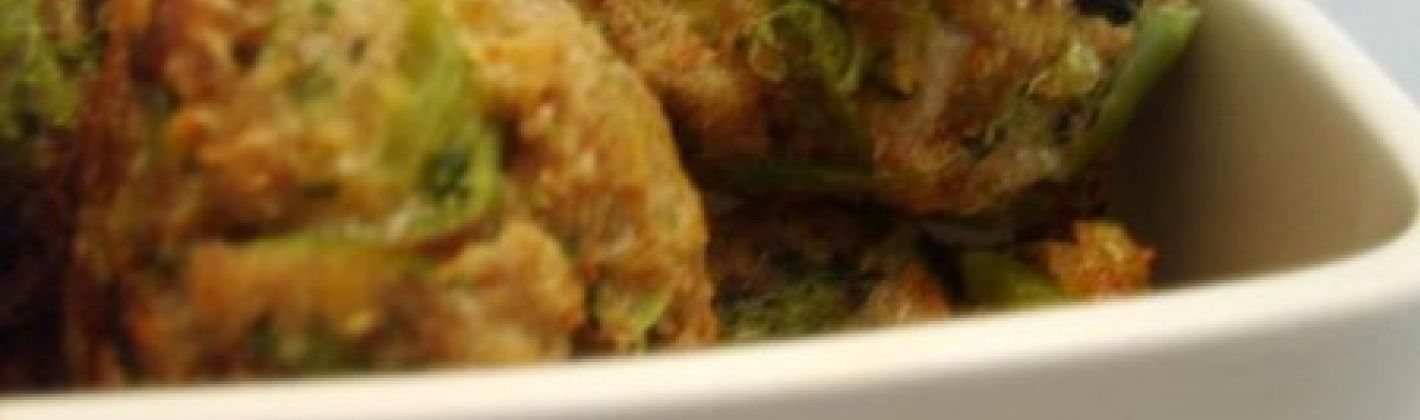 Ricetta polpette di broccoli e formaggio
