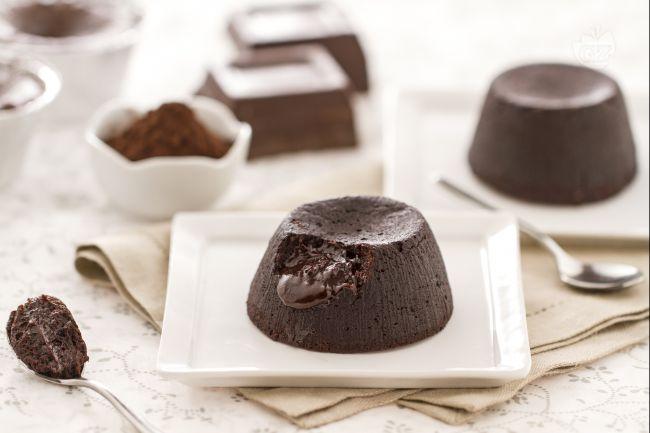 Ricetta tortino di cioccolato con cuore fondente