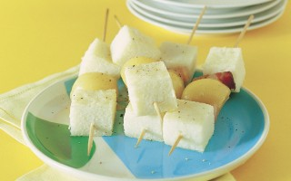 Ricetta spiedini di polenta bianca