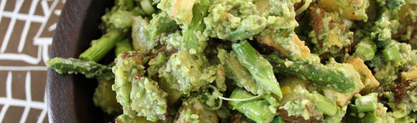Ricetta insalata di patate con avocado