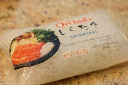Ricetta noodles con pesce spada e mandorle