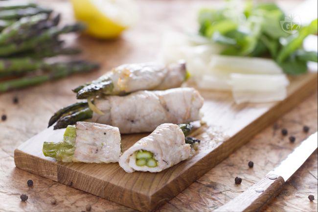 Ricetta involtini ripieni di asparagi