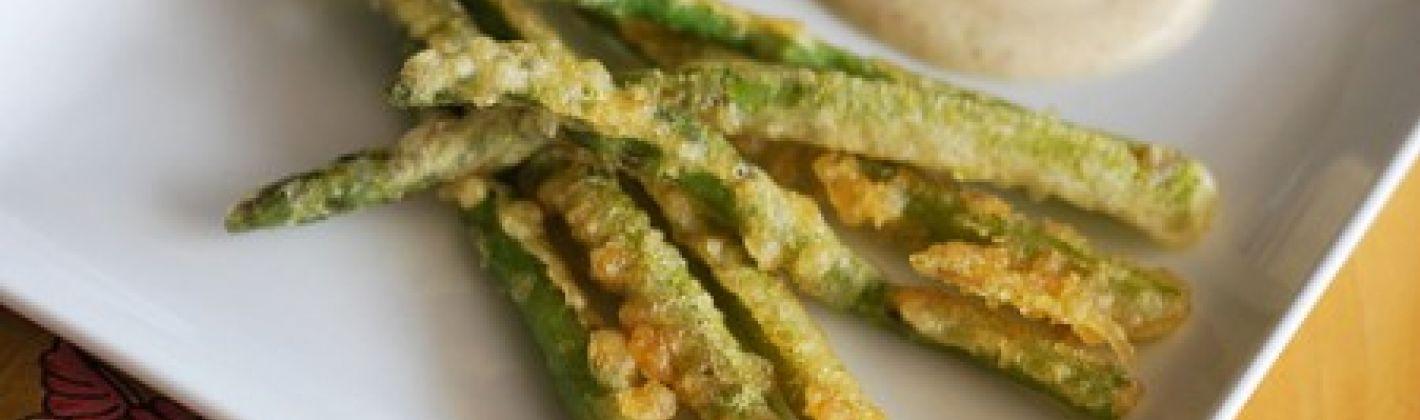 Ricetta asparagi in tempura