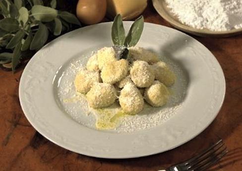 Gnocchetti al gorgonzola