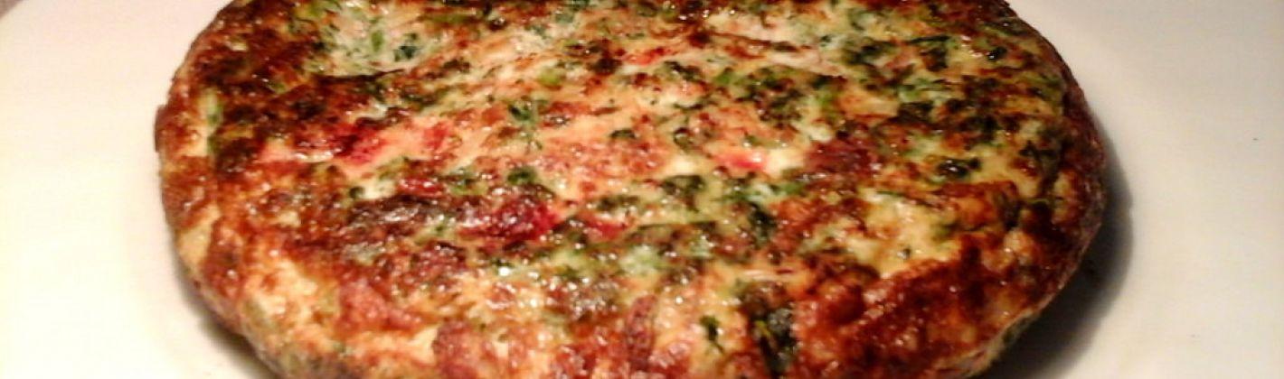 Ricetta frittata al radicchio rosso senza grassi