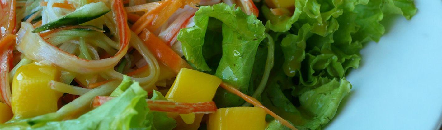 Ricetta insalata di polpa di granchio