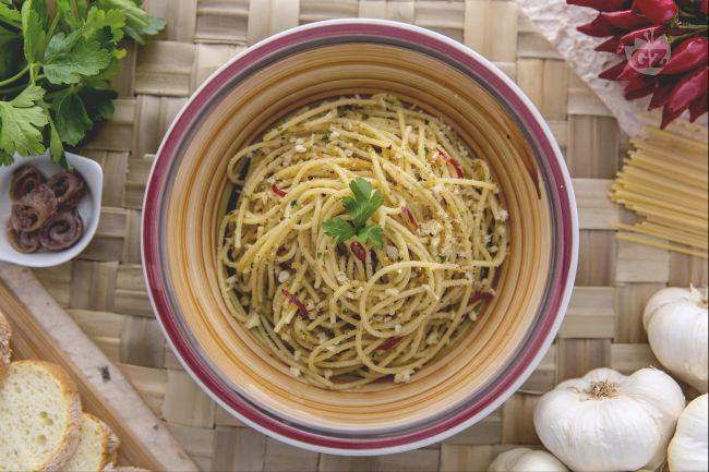 Ricetta pasta e mollica