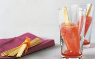 Ricetta ghiaccioli al campari e arancia