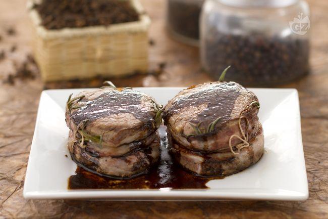 Ricetta medaglioni di filetto all'aceto balsamico