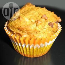Muffin alla zucca, cocco e cioccolato