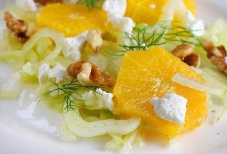 Ricetta coppa di finocchi alle arance