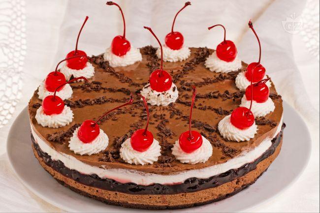 Ricetta cheesecake foresta nera