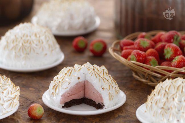 Ricetta mini baked alaska
