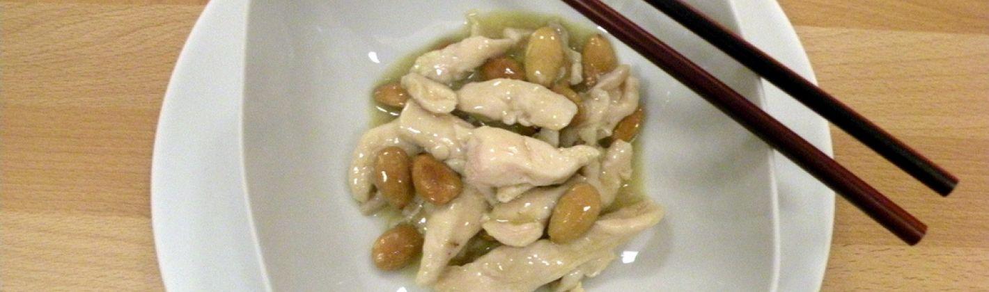Ricetta pollo alle mandorle
